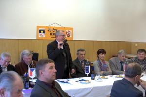 Výroční schůze ZO ČSV Těrlicko 2015