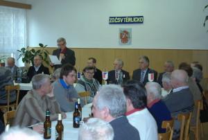 Výroční schůze ZO ČSV Těrlicko – 2012