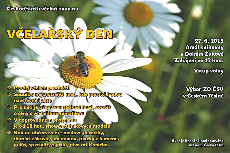 včelařsky den 2015