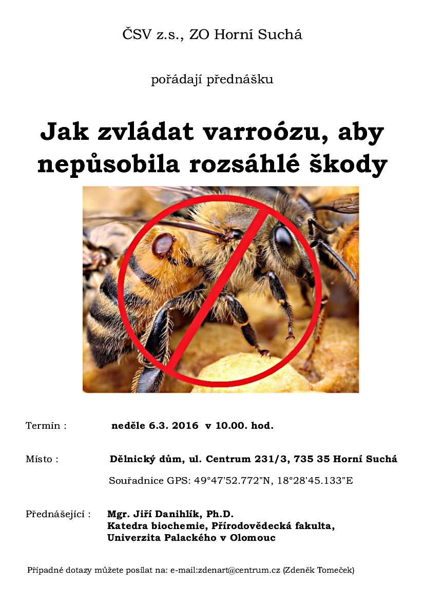 Plakát přednášky II.