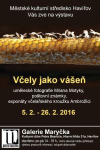 Včely Milana Motyky v Havířově