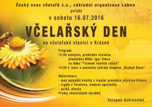 Pozvání na Včelařský den do Lubna